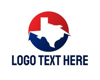Austin - Circle Texas State logo design