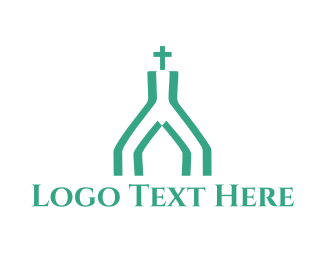 Church - Mint Church logo design