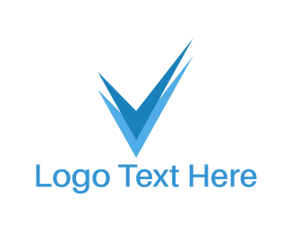 Approved - Blue Check logo design