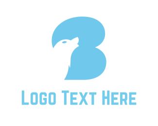 Wolf - Blue Wolf logo design