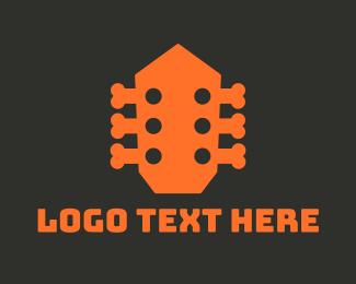 Band - Music Bones logo design