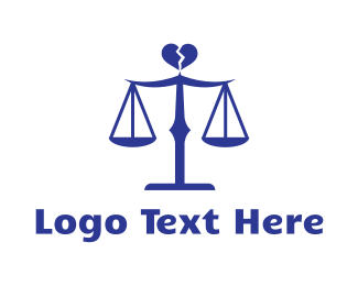 Fair - Divorce Lawyer logo design