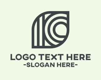 Stripes - Leaf Stripes logo design