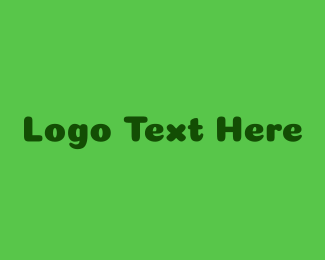 Friend - Green Friendly Wordmark logo design
