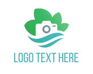 Photography - Eco Camera logo design