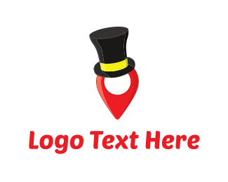 Locater - Fashion Pin  logo design