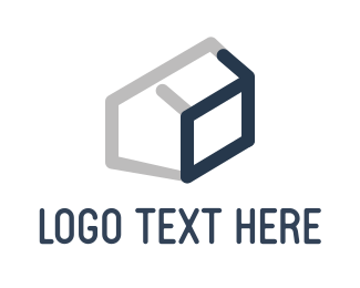 Construction - Abstract Home logo design