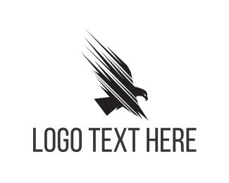 Military - Fast Eagle Fly logo design