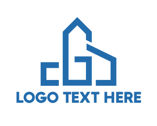Shape - Chapel Shape G logo design