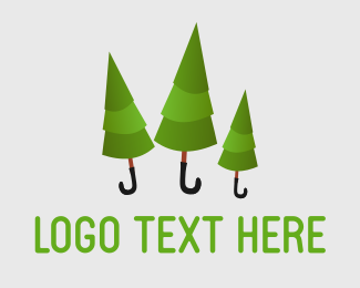 Rain - Rainforest logo design