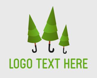 Wood - Rainforest logo design