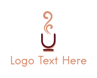 Aroma - Coffee Cup logo design