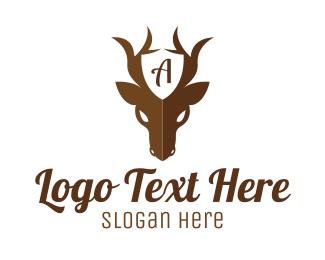 Deer - Guard Deer logo design
