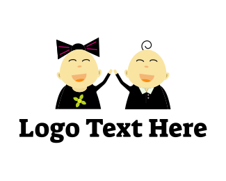 Joy - Smile Children logo design