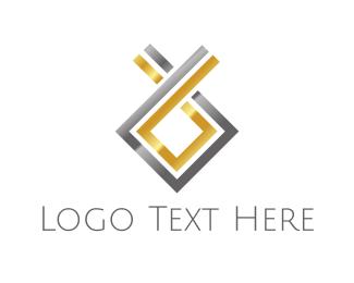 Finance - Elegant Gold & Silver  logo design