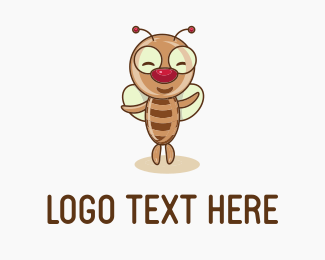Ballet - Insect Fly logo design