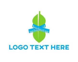 Measure - Weight Loss logo design