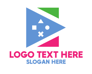 Early Learning Center - Polygon Gaming logo design