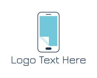 Paper - Paper Phone logo design