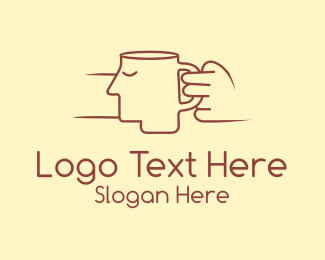 Mug - Face Cup logo design