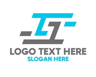 Team Emblem - Blue Grey G logo design