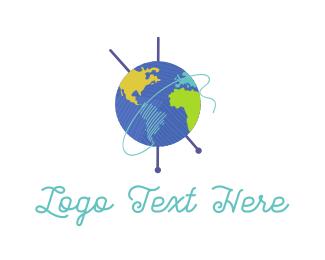 Wool - Knitting World logo design