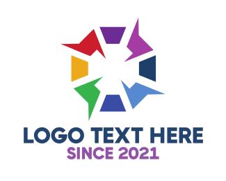 Explosive - Electric  Hexagon logo design