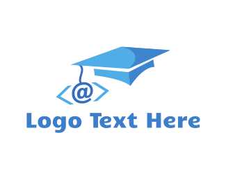 Programing - Coder Graduation logo design