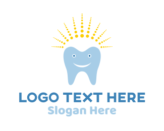 Clinic - Happy Tooth logo design