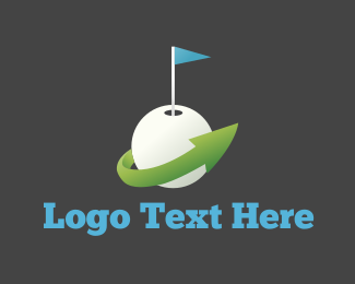 Golf - Golf Ball logo design