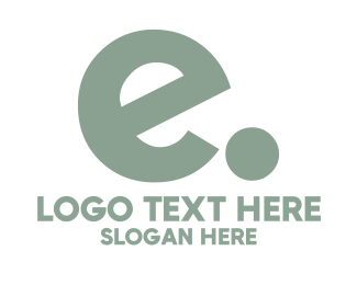 Hosting - E dot logo design