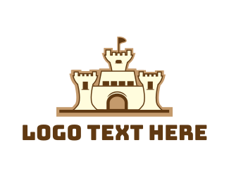 Fairytale - Sandcastle logo design