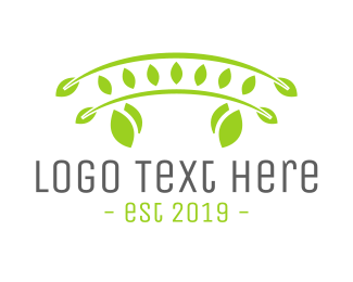 Farm - Green Bridge logo design