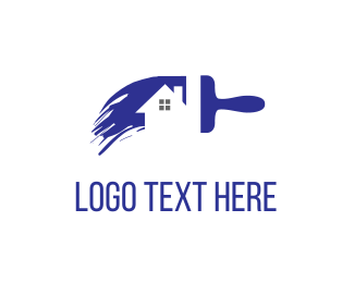Service - House Painting logo design