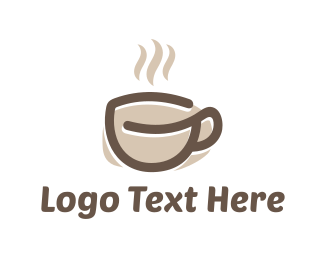 Cafeteria - Coffee Cup logo design
