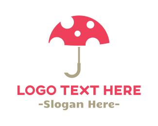 """Umbrella & Mushroom"" by shad"