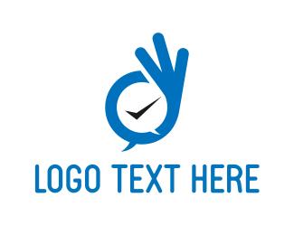 Agreement - Okay Bubble logo design