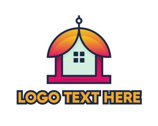 Botanist - Bell Flower House logo design