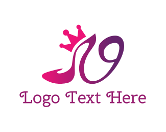 Shopify - Shoe Crown logo design