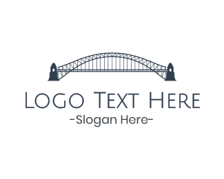 Tourist - Gray Harbour Bridge  logo design