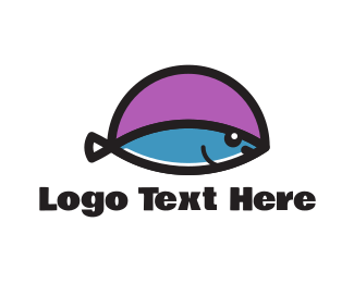 Tuna - Small Fish logo design