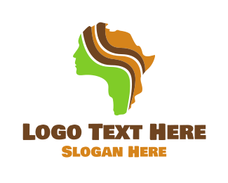 South Africa - African Beauty logo design