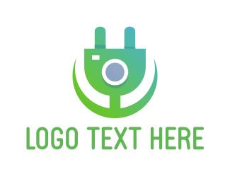 Charger - Electric Flower logo design