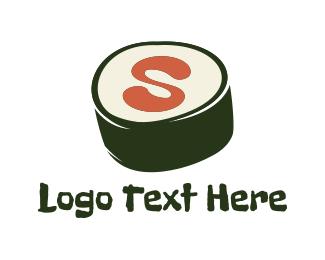 Japanese Restaurant - Sushi Letter S logo design