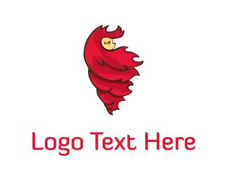 Ginger - Red Hair logo design