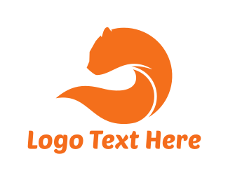 Feline - Orange Feline logo design