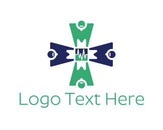 Chemist - Medical Team logo design