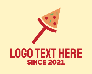 Pizzeria - Modern Pizza Slice logo design