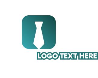 Mobile App - Tie App logo design