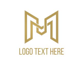 """""""Golden Letter M"""" by DanteDesign"""
